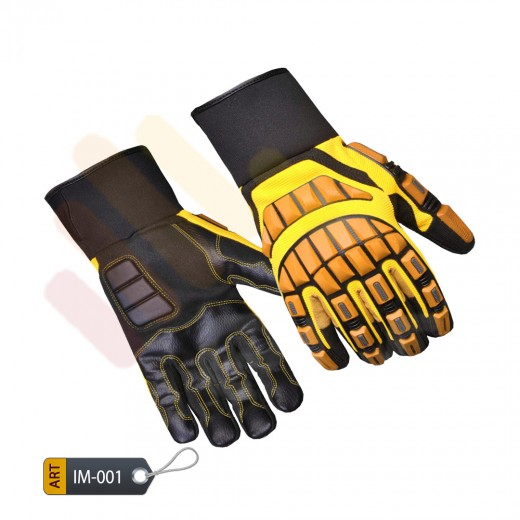 Anti-Impact Performance Gloves Vibrant by ELC Pakistan (IM-001)