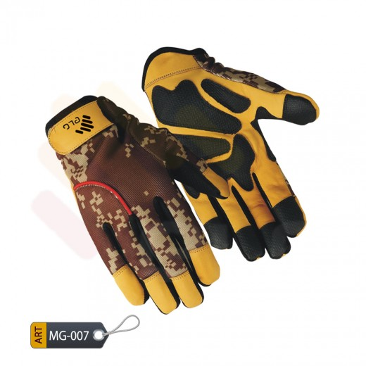 Mechanic Performance Gloves Leather by ELC Pakistan (MG-007)