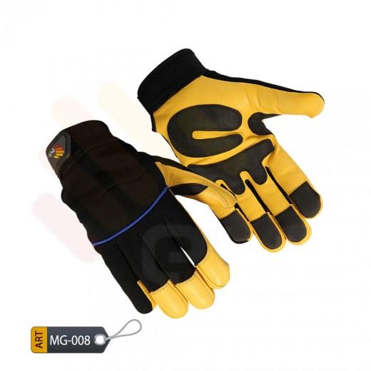 Mechanic Performance Gloves Leather (MG-008)