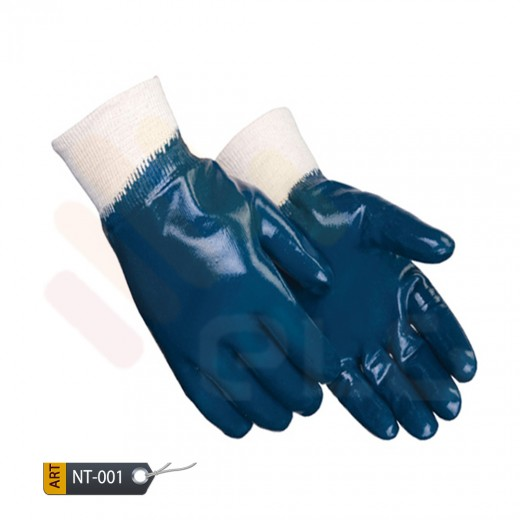 Manza Nitrile Coated Gloves by ELC (NIT-01)