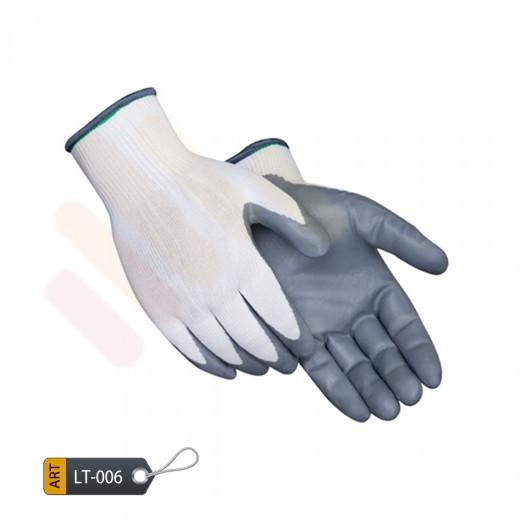 Nitrile coated nylon gloves by ELC Pakistan (LT-006)