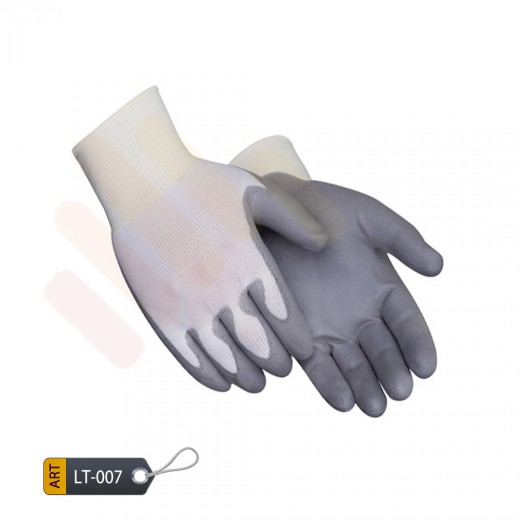 Polyurethane coated nylon knitted gloves by ELC Pakistan (LT-007)