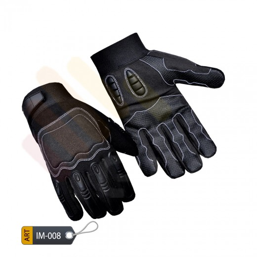 Tactical TPR finger performance Glove by ELC Sialkot Manufactured (IM-008)