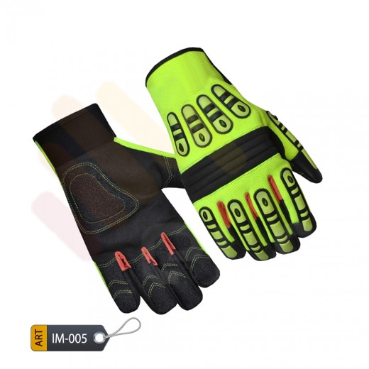 Thermo-plastic foam rubber patched Gloves mendacious by ELC Pakistan (IM-005)
