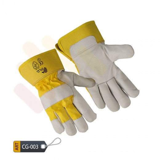 Yellow Canadian Gloves by ELC Pakistan (CG-003)
