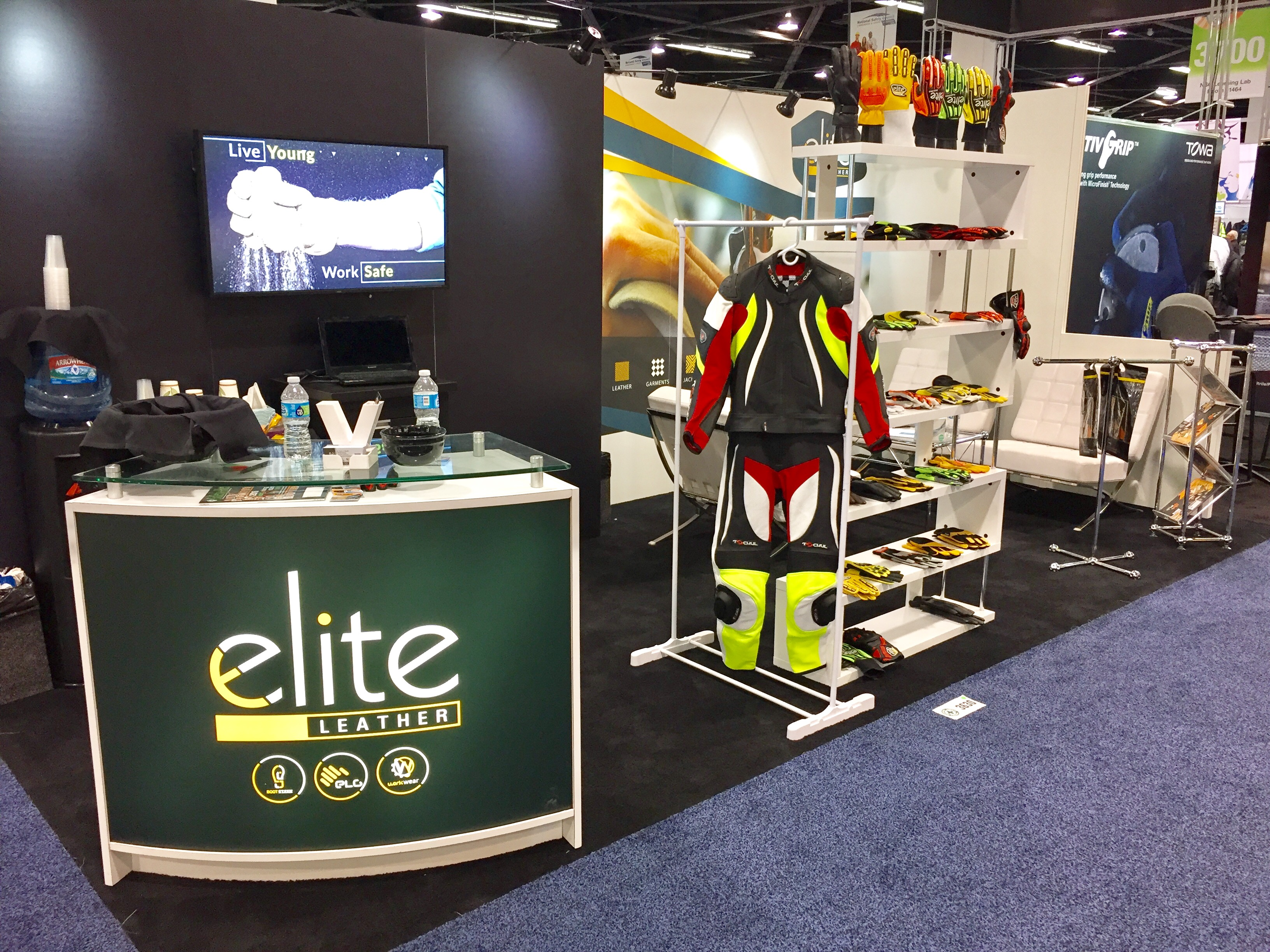 Elite Leather NSC 2016 Booth 3630 Complete