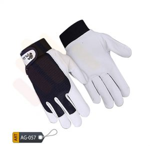 Black Assembly Gloves Deluxe by ELC Pakistan (AG-057)