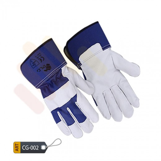 Blue Canadian Gloves by Elite leather Pakistan (CG-002)