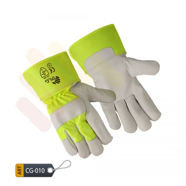Lime Canadian Gloves by ELC Pakistan (CG-010)