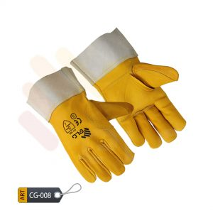 Canary Canadian double palm gloves by ELC Pakistan (CG-008)