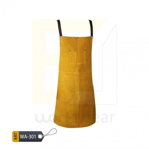 EL Split Leather Welder Apron (WA-301)