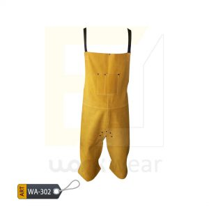 EL Split Leather Welder Apron (WA-302)