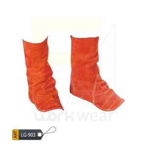 EL Split Leather Welder Leg Guard Karachi Manufactured (WJ-903)