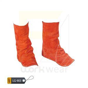 EL Split Leather Welder Leg Guard Karachi Manufactured (WJ-903)