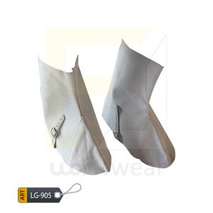 EL Split Leather Welder Leg Guard Karachi Manufactured (WJ-905)