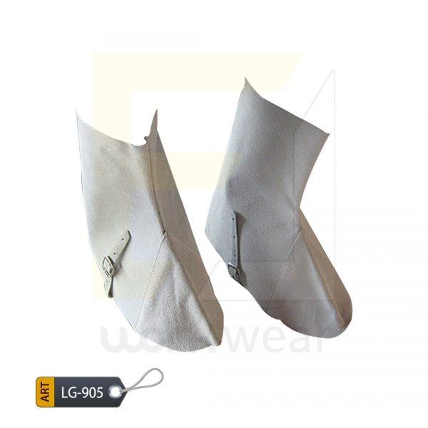 EL Split Leather Welder Leg Guard Karachi Manufactured (WJ-905)