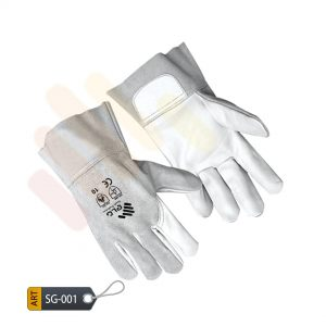Avocado Leather Split Gloves by ELC Karachi (SG-001)