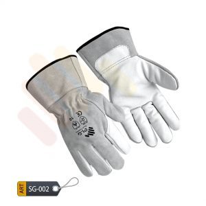 Arsenic Leather Split Gloves by ELC Karachi (SG-002)