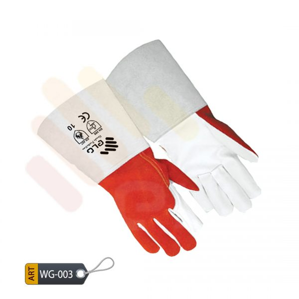 Orchid Leather Welder Gloves by ELC Karachi (WG-003)