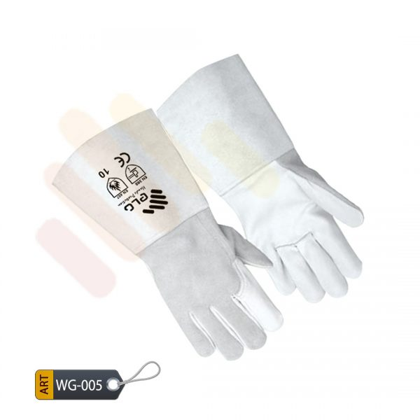 Flatter Leather Welder Gloves by ELC Karachi (WG-005)