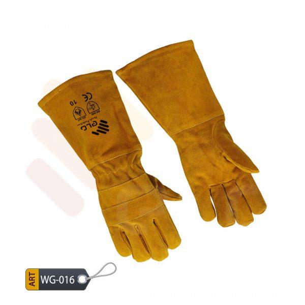 Bistre Leather Welding Gloves by ELC Karachi (WG-016)