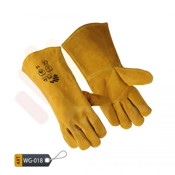Emerald Leather Welding Gloves by ELC Karachi (WG-018)