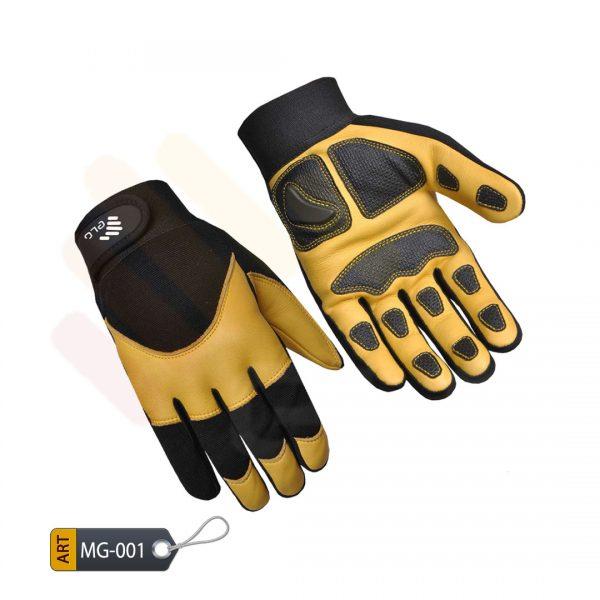 Blaze Mechanic Performance Gloves Leather by ELC Pakistan (MG-001)