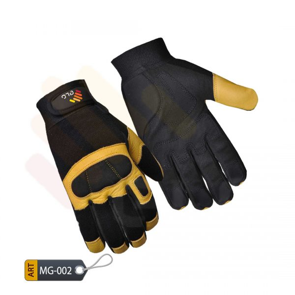 Specialist Mechanic Performance Gloves Leather by ELC Pakistan (MG-002)