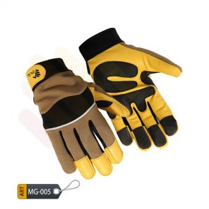 Obstinate Mechanic Performance Gloves Leather by ELC Pakistan (MG-005)