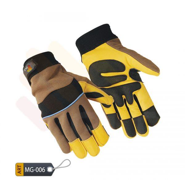 Adhoc Mechanic Performance Gloves Leather by ELC Pakistan (MG-006)