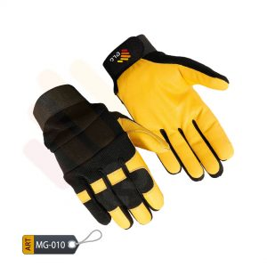 Exultant Mechanic Performance Gloves Leather by ELC Pakistan (MG-010)