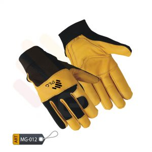 Macabre Mechanic Performance Gloves Leather by ELC Pakistan (MG-012)