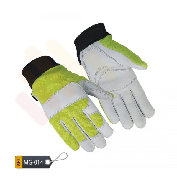 Verdant Mechanic Performance Gloves Leather by ELC Pakistan (MG-014)
