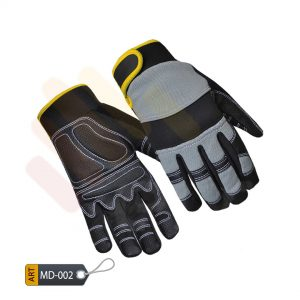 Performance Mechanic Performance Gloves Synthetic by ELC Karachi (MD-002)