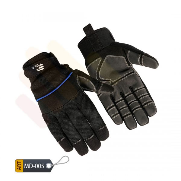 Spandex Mechanic Performance Gloves Synthetic by ELC Karachi (MD-005)