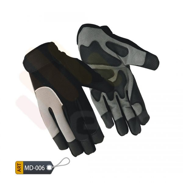 Patched Mechanic Performance Gloves Synthetic by ELC Karachi (MD-006)