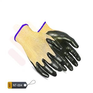 Nitrile Coated Kevlar Gloves by ELC (NIT-04)