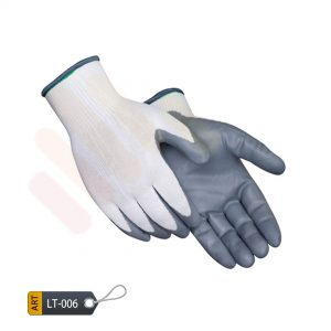 Nitrile coated nylon gloves by ELC Pakistan (LT-006)