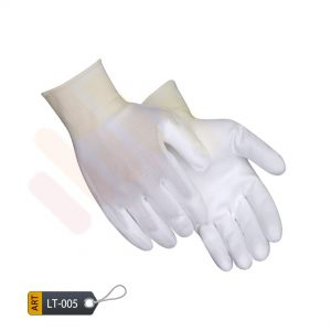 Polyurethane nitrile coated nylon gloves by ELC Pakistan (LT-005)