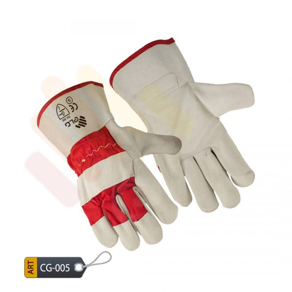 Red Canadian Gloves by ELC Pakistan (CG-005))