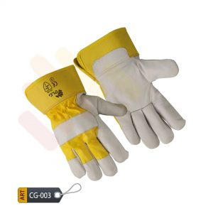 Citrine Yellow Canadian Gloves by ELC Pakistan (CG-003)