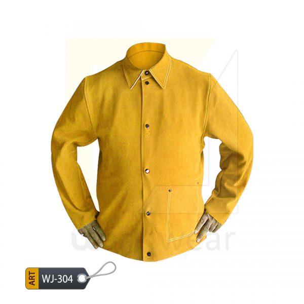 EL Split Leather Welder Jacket (WJ-305)