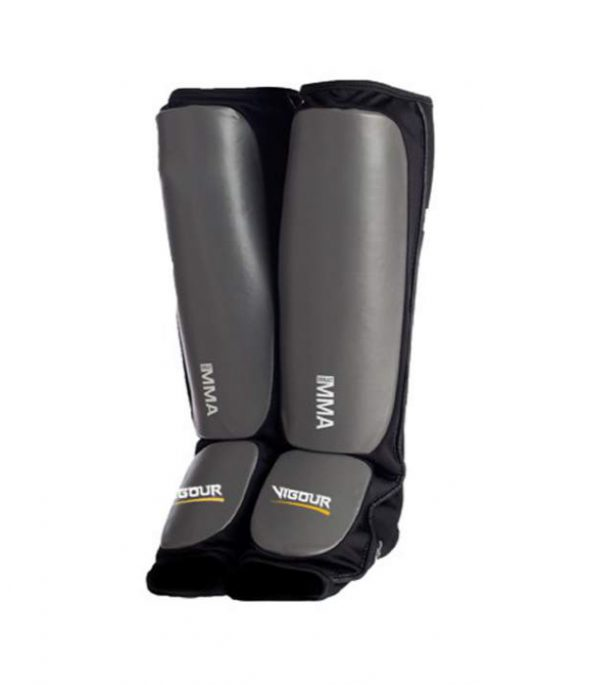 Alphas shin guards by Elite Leather Creations