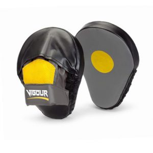 Vigour Brutes Punching Mitts by Elite Leather Creations