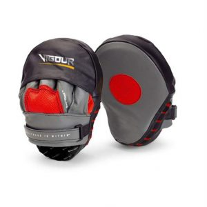 Vigour Protectors Punching Mitts by Elite Leather Creations