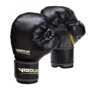 Vigour Devastation Boxing Gloves by Elite Leather Creations