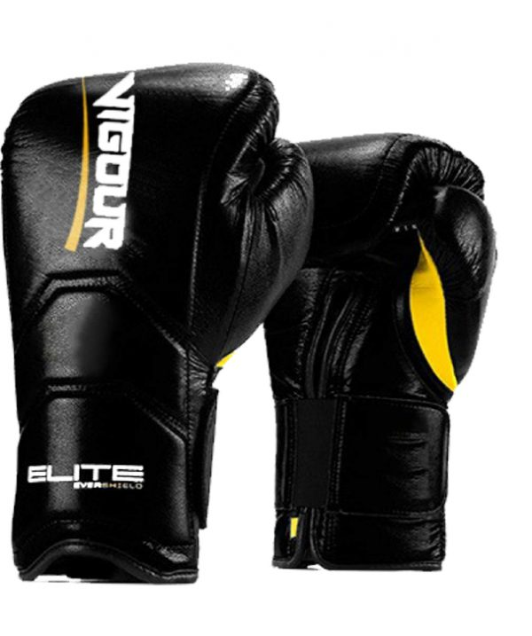 Vigour Hitman Boxing Gloves by Elite Leather Creations
