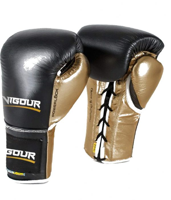 Tribunal Vigour Boxing Gloves by Elite Leather Creations