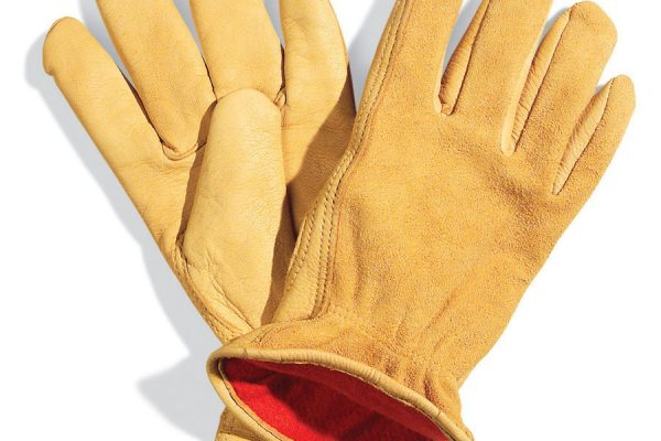 Water resistant assembly line glove