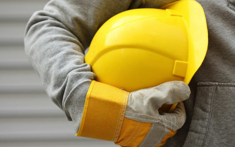 Close Up of Construction Work Gear